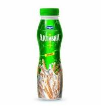 Йогурт питьевой Активиа 2.4% со злаками 870г