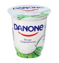 Йогурт Danone традиционный 3.3%, 350г
