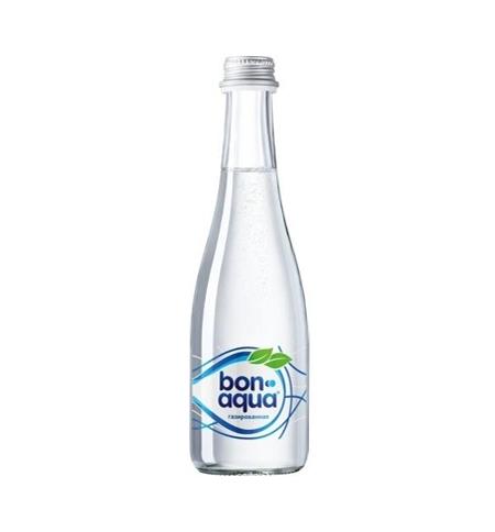 фото: Бонаква стекло 0,33 вода газированная