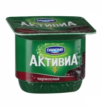 Йогурт Активиа чернослив 2.9%, 150г