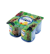 Йогурт Fruttis Marvel банан-клубника-мультифрукт 2.5%, 110 г