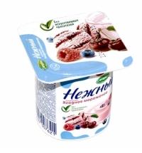 Йогурт Нежный ягодное мороженое 1.2%, 100г