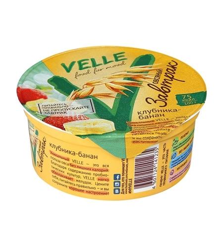 фото: Завтрак овсяный Velle клубника-банан 175г