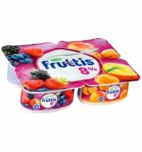 Йогурт Fruttis Суперэкстра лесные ягоды-абрикос-манго 8%, 115г