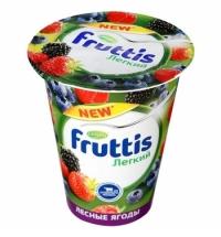Йогурт Fruttis Легкий лесные ягоды 0.1%, 310г