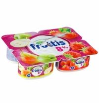 Йогурт Fruttis Суперэкстра яблоко-груша-клубника 8%, 115г