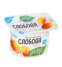 Йогурт Слобода персик 2.9%, 125г