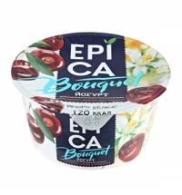 Йогурт Epica Bouquet черешня и цветки апельсина 4.8%, 130г