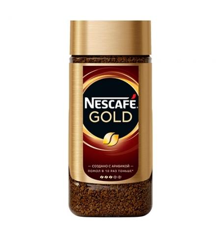 фото: Кофе растворимый Nescafe Gold 190г стекло