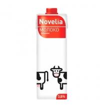 Молоко Novelia 3.5% 950 мл, ультрапастеризованное