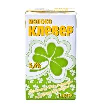 Молоко Клевер 2.5% 1л, ультрапастеризованное