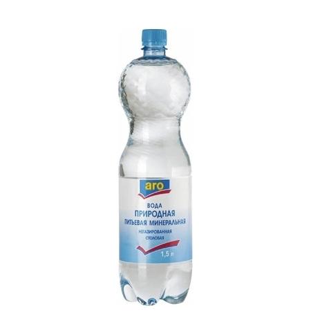 фото: Вода Аро негазированная, 1.5 л, ПЭТ
