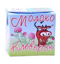 Молоко Клеверок 2.5% 500мл, ультрапастеризованное
