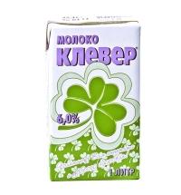 Молоко Клевер 6% 1л, ультрапастеризованное