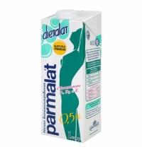 Молоко Parmalat Диеталат 0.5% 1л, ультрапастеризованное, витаминизированное