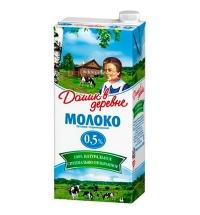 Молоко Домик В Деревне 0.5% 950г, ультрапастеризованное