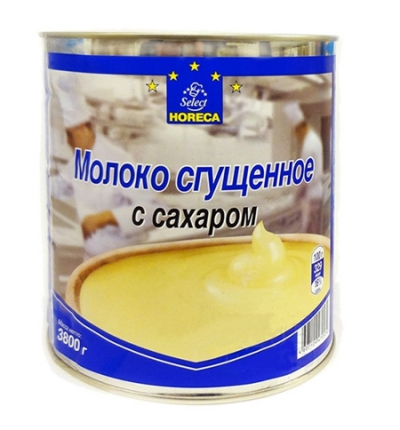 фото: Молоко сгущенное Horeca 8.5% 3800г ж/б