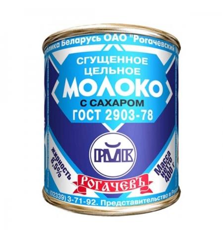 фото: Молоко сгущенное Рогачев 8.5% 380г, ж/б