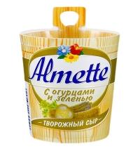 Сыр творожный Almette с огурцами и зеленью 60%, 150г