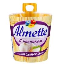 Сыр творожный Almette с чесноком 60%, 150г