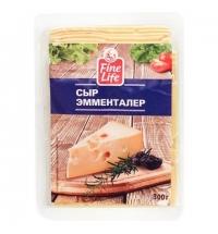 Сыр в нарезке Fine Life Эмменталер 45% 300г