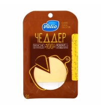 Сыр в нарезке Valio Чеддер 48% 140г
