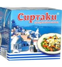 Сыр рассольный Сиртаки 40% длягреческого салата, 200г