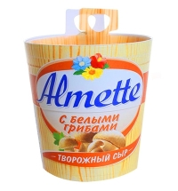 Сыр творожный Almette с белыми грибами 60%, 150г