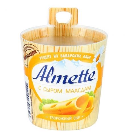 фото: Сыр творожный Almette Маасдам 60%, 150г