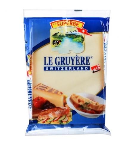 фото: Сыр твердый Lustenberger Грюер 50%, 195г