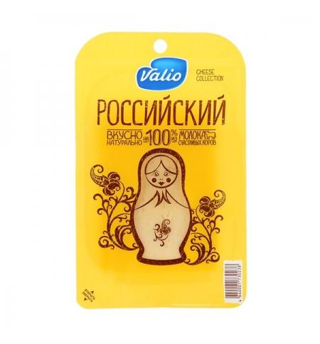фото: Сыр в нарезке Valio Российский 50% 140г