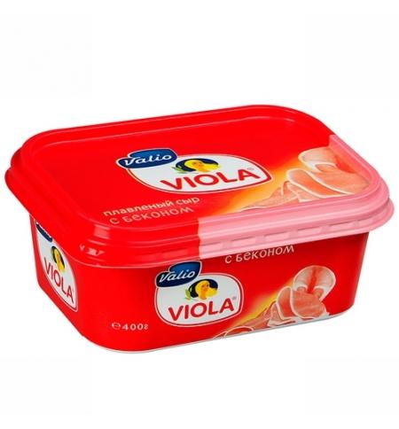фото: Сыр плавленый Viola бекон 55%, 400г