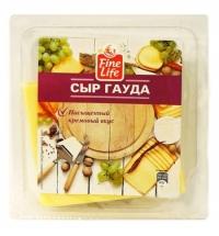 Сыр в нарезке Fine Life Гауда 48% 150г