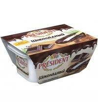 Сыр плавленый President шоколадный 30% 400г