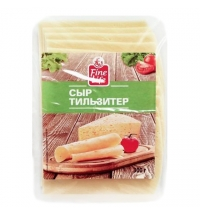 Сыр в нарезке Fine Life Тильзитер 45% 300г