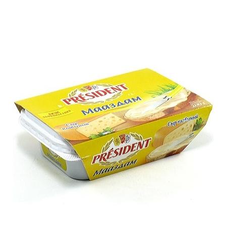 фото: Сыр плавленый President шоколадный 30% 200г