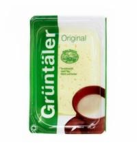 Сыр в нарезке Gruntaler легкий 30% 250г, Россия