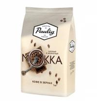 Кофе в зернах Paulig Mokka 1кг пачка