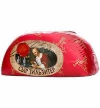 Сыр твердый Карлов Двор Тильзитер 45% кг (средний вес 4кг)