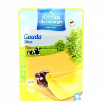 Сыр в нарезке Oldenburger Гауда 48% 125г