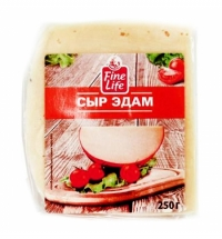 Сыр твердый Fine Life Эдам 40% 250г