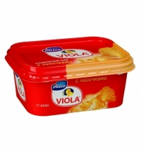 Сыр плавленый Viola с лисичками 55%, 400г