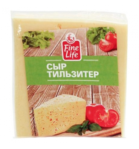 фото: Сыр полутвердый Fine Life Тильзитер 45% 500г