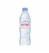 Вода Эвиан 0.5 л, без газа, ПЭТ