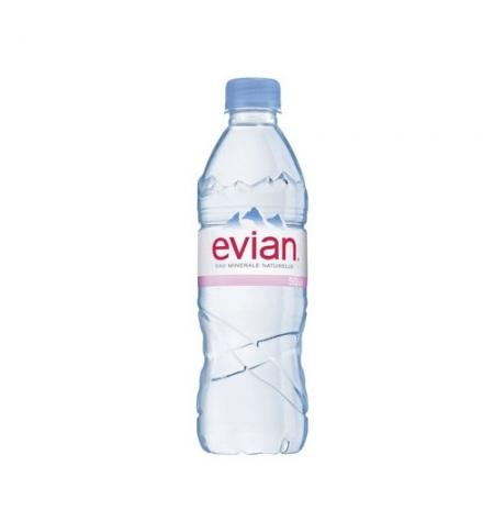 фото: Вода Эвиан 0.5 л, без газа, ПЭТ