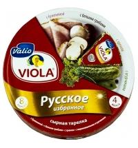 Сыр плавленый Viola с грибами 50% 130г