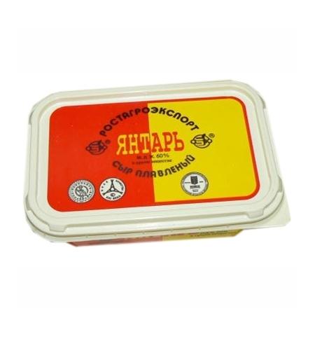 фото: Сыр плавленый Янтарь 60% 200г