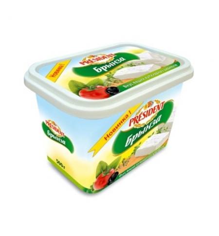 фото: Сыр рассольный President Брынза 48% 500г