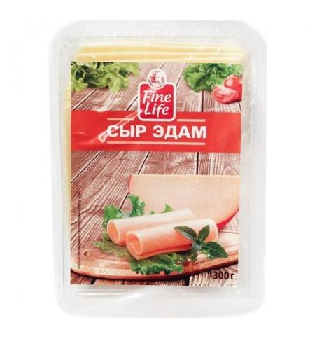 фото: Сыр в нарезке Fine Life Эдам 40% 300г