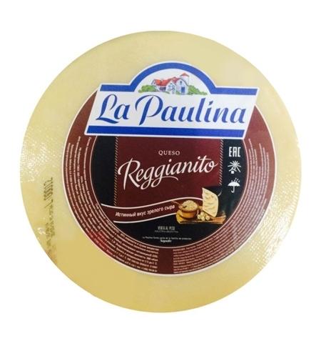 фото: Сыр твердый La Paulina Reggianito 45% 1кг